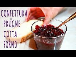 Marmellata Confettura Di Prugne Cotta Al Forno Fatta In Casa Da Benedetta Confettura Di Prugne Marmellata Di Prugne Prugna