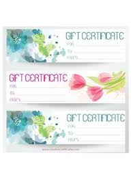 Younique Gift Certificate Template Free Printable Gift Certificate Templates Business Gift