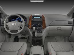 Image: 2008 Toyota Sienna 5dr 7-Pass Van XLE FWD (Natl) Dashboard ...