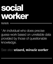 Social Work Quotes Enchanting Social Worker Definition Gift Funny Job Quote Tee Posters By