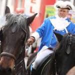 Pferde gehen bei Rosenmontagszug durch – mehrere Verletzte