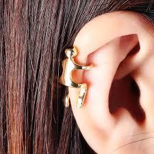 Orecchino Cartilagineo Di Colore Oro Argento 1pc Orecchino Non Orecchini Per Scalatore Di Piercing Allorecchio Per Le Donne