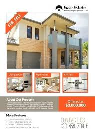 Microsoft Real Estate Flyer Templates Best House For Sale Advertisement Examples Templates Word