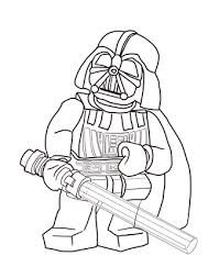 Small Picture Lego Star Wars Darth Vader coloring page SuperColoringcom