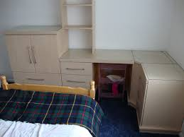 Mfi Bedroom Furniture Mfi Hygena Flat Packed Bedroom Furniture In Pearwood Ash Maple