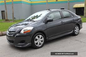 2007 Toyota Yaris S Us Bankruptcy Court No Accident