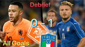 Pays-Bas vs Italie 0-1 - All Goals & Debrief UEFA NATIONS LEAGUE - YouTube