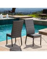 Amazing Deal on Sarcelles Modern Wicker Patio Chairs by Corvus Set