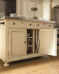 Storage Tables For Kitchen Kitchen White Kitchen Island Table With Storage And Stainless