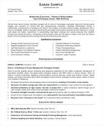 Marketing Manager Resume 2017 Marketing Manager Resume Format
