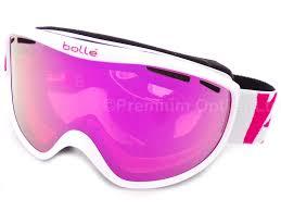 Bolle Ski Goggles Size Chart Bolle Sierra Womens Ski Goggles White Pink 21657