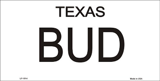 Urban Cowboy Quotes Mesmerizing Amazon Bud And Sissy Texas License Plates Tags Urban Cowboy