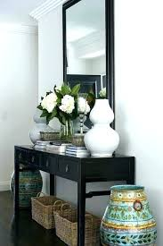entry table ideas with mirror front entryway tables foyer table ideas black entry on entrance decor entry table ideas