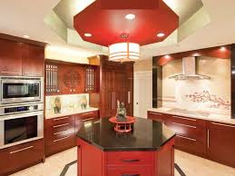 chinese kitchen decor with chinese style lighting