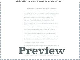 Examples Of Critical Analysis Essay Analytic Essay Examples