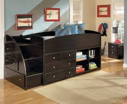 twin storage bed. Amazing Black Twin Storage Beds For Kids With Left Home Interiors Regarding Popular Bed