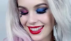watch harley quinn club scene squad inspired makeup tutorial gif on gfycat discover more
