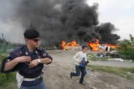 Risultati immagini per campi rom in italia
