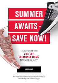 Foot Locker Last Chance To Save 20 This Memorial Day