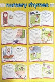 Nursery Rhymes Wall Chart Wall Charts Buy Nursery Rhymes