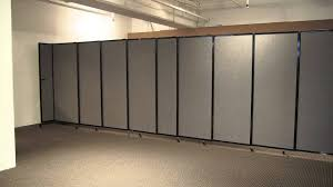 Wall-Mounted StraightWall Partition / Room Divider by Versare - YouTube