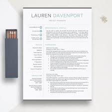 Etsy Resume Template Enchanting 288 28 And 28 Page Modern Resume Template For Word Pages Etsy
