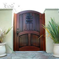 custom wood gates garden es