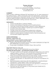Quality Assurance Resume Objective Best Of Quality Assurance Resume Quality Assurance Resume Examples Software