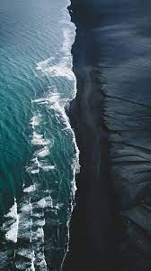 Black Sand Beach Iceland Wallpapers ...