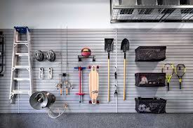 garage wall organization systems. organize your garage and use that underutilized wall space with a versatile slatwall system. organization systems