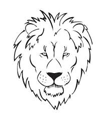 1802 Lionheadvectorillustration Cliparts Stock Vector And