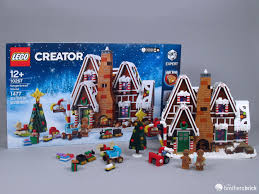 Devour The Delicious Lego 10267 Winter Village Gingerbread