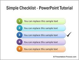 Powerpoint Charts Tutorial Simple Checklist Powerpoint Tutorial Powerpoint Tutorial