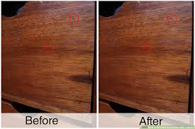 How To Seal Wood Scratches With A Walnut 5 Steps With