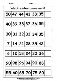 Number Patterns Inspiration Pattern Number Patterns FREE Printable Worksheets Worksheetfun