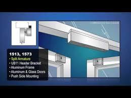 magnetic lock installation ilrations electromagnetic door locks you