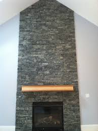 stack stone fireplace diy ideas