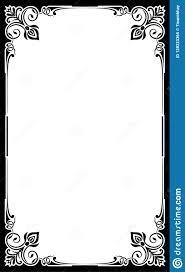 Fancy Restaurant Menu 023 Restaurant Menu Card Frame Template Blank Background