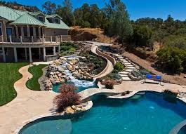 home pools with waterslides. Simple Pools Here Is A Park With Nice Long Slide Custom Slides Can Be Made Very Inside Home Pools With Waterslides R