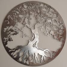 circle tree of life metal art wall decor abstrack chrome traditional elegance decorative room unique stainless on metal artwork wall hangings with wall art best inspiration metal art wall decor custom metal signs