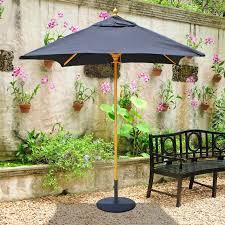 galtech sunbrella 6 x 6 ft wood square patio umbrella patio umbrellas at h of sunbrella patio umbrella