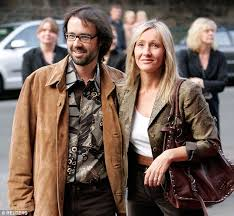 harry potter author jk rowling to build hagrid hut on her  the harry potter author is pictured her husband dr neil murray the couple married