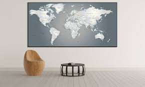 extra large world map 883 ready to hang canvas print on extra large wall art canada with extra large world map 883 ready to hang canvas print canvas print