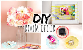 Small Picture DIY Room Decor for Cheap Simple Cute YouTube