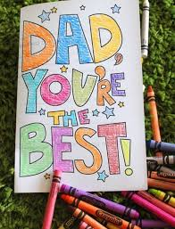 So, why not make it memorable with a small token, gift or even just a few words of appreciation? Father S Day Card Printable Coloring Sheet Alpha Mom
