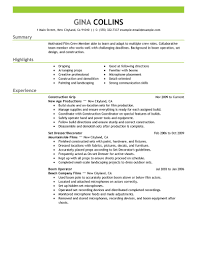 Film Production Resume Resume For Your Job Application