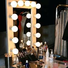 countertop makeup mirrors with light magnifying vanity mirror professional lights