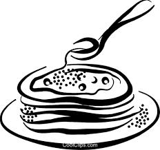 パンケーキ ロイヤリティ無料ベクタークリップアートイラスト Vc070377