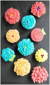 How To Decorate Cupcakes Easy Flower Cupcakes Cake Cupcakes
