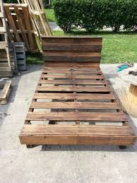 using pallets to make furniture. twin bed made completely from one full size pallet weberswoodworks using pallets to make furniture